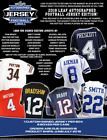 2018 Leaf AUTOGRAPHED FOOTBALL JERSEY FACTORY SEALED BOX