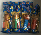 Set Of 4 Lion King PEZ - Simba Nala Mufasa Pumbaa Unopened