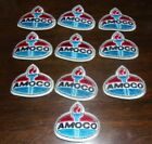 lot of 10 Vintage AMOCO  Oil Gas Company Torch Patch little over 3 x 2.5 Unused