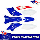 Blue TTR50 Fender Plastics Fairing Kit For Yamaha TTR 50 TTR50 50cc Dirt Bike