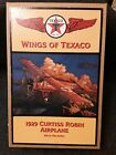 1929 Curtiss Robin Die-cast Airplane Wings of Texaco Coin Bank Brand New Sealed