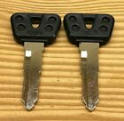 2 Yamaha Motorcycle / ATV Key Blanks WILL ONLY WORK FOR KEY CODES A11111-A79897
