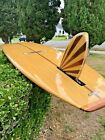 ABSOLUTELY GORGEOUS  RARE GORDON  SMITH 100 WOOD VENEER SURFTECH SURFBOARD