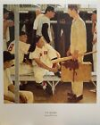 The Rookie by Norman Rockwell Baseball Poster 12x15