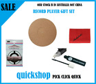 Turntable Record Player Mat Cleaning Cloth Stylus Needle Cleaner  Brush