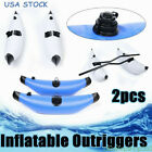 2x Kayak PVC Inflatable Outrigger Kayak Canoe Fishing Boat Stabilizer System