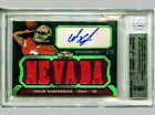 2011 Colin Kaepernick Topps Triple Threads RC jersey auto 2 3 (1 1) POP 1 BGS 9