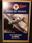 Wings Of Texaco 1932 Northrop GAMMA 2nd in the Series COA + New Ertl Coin Bank