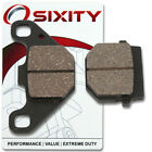 Front Organic Brake Pads 2007-2008 Adly Panther 50 Set Full Kit  Complete zl