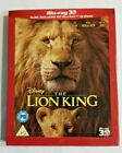 The Lion King 3D Blu ray 3D+2D Live Action Slipcover Included  Ready To Ship