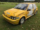 1990 Ford Fiesta XR2 1600cc CVH Mk3 Rally Car MSA log booked track day