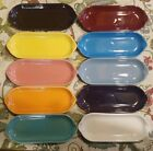 Lot of 10 Fiestaware Relish Utility Trays