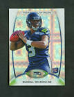 2012 Russell Wilson Topps Platinum Xfractor Refractor Rookie RC #138 Seahawks