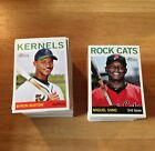 2013 Topps Heritage Minor Complete Base Set 200 Cards 1-200
