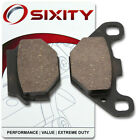 Rear Ceramic Brake Pads 2010-2013 Yamaha YFM90 Raptor Set Full Kit RZ RA RB mj