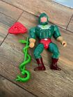 Vintage Motu King Hiss Figure Complete, Masters Of The Universe, He-man