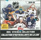 (2) 2019 20 TOPPS NHL STICKER COLLECTION SEALED BOXES + (12) ALBUMS