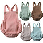 US Baby Boy Girl Toddler Newborn Romper Jumpsuit Bodysuit Clothes Outfit 0 24M