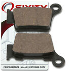 Rear Organic Brake Pads 2006 KTM 560 SMR Set Full Kit  Complete tq