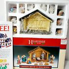 1996 Lemax Hearthside Village 11 piece porcelain NATIVITY 6ft. Cord inc.