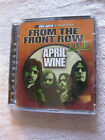 April Wine - From the Front Row - Live (2003) Silverline Audio DVD NEW unplayed