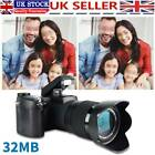 FHD 1080P Digital Camera Built-in Memory Wide-angle Lens Optical Zoom 24X 32MB