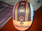 COLNAGO CYCLING CAP ITALIA HAT CAP POLYESTER SUBLIMATED UV RAY PISTA FIXED MULTI