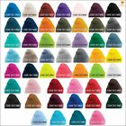 Personalised Unisex Beanies Embroidered Pure Acrylic Casual Wear Men Women Hats
