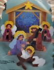 Bucilla Manger Scene Nativity Religious Plastic Canvas Craft Kit 61138