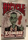 Bicycle ZOMBIE Playing Cards SEALED Deck Contain 52 Zombie Surviving Tips NEW