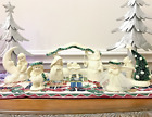 Snowbabies Nativity + 3 pieces SnowDream A Child Is Born Are You A Wishing Star