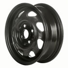 03092 Factory OEM Reconditioned Steel Wheel 13 X 45 Black Full Face Painted