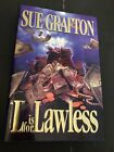 L for LAWLESS SUE GRAFTON SIGNED 1st Edition Hardcover Dust Jacket