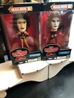 THE ROCKY HORROR PICTURE SHOW HEADLINERS XL JANET WEISS FIGURE AND FRANK N FUTER