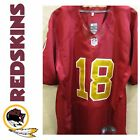 Redskins 80th Anniversary Limited Edition Doctson, On Field Jersey 44 Burgundy