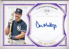 2019 Topps Definitive DON MATTINGLY On Card Autograph 2 5 AWESOME!