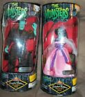 THE MUNSTERS HERMAN LUNCHBOX & LILY ACTION FIGURE TOY TV MOVIE DOLLS COLLECTIBLE