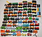 Lot of 78 Thomas the Train and Friends Wooden Trains ENGINES AND TRAIN CARS ++