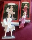 2 GORGEOUS HALLMARK MARILYN MONROE ORNAMENTS-1997 & 1998