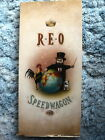 REO Speedwagon EMPTY CD LONGBOX - The Earth, A Small Man, His Dog and a Chicken
