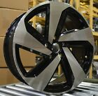NEW 18 Volkswagen Golf 2019 Factory OEM Rim Wheel 70056 Black Machined
