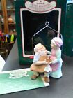 1987 Hallmark Home Cooking Mr & Mrs Claus Christmas Ornament