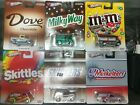 2013 HOT WHEELS Mars Candy Set MMs Snickers Skittles Dove Milky Way Musketeers