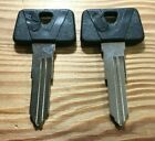 2 Suzuki Motorcycle / ATV Key Blanks WILL ONLY WORK FOR KEY CODES D11111-D79897
