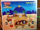 Fisher Price Little People Nativity Set Plays Music17 Pieces Great Lot