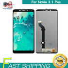 For Nokia 3.1 Plus LCD Display Touch Screen Digitizer Assembly Replace RL1US