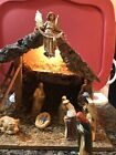 Vintage Nativity Set Manger Christmas Baby Jesus Made In Italy