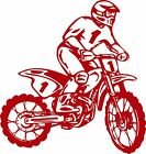 Motorcycle Dirt Bike Motocross Car Truck Window Laptop Vinyl Decal Sticker