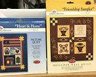 The Quilt Collection Kit Friendship Sampler Heart  Home Wall Hanging Patchwork