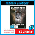 PLANET OF THE APES 1 2 3 Tim Burtons+Rise+Dawn+War Remakes DVD BOXSET